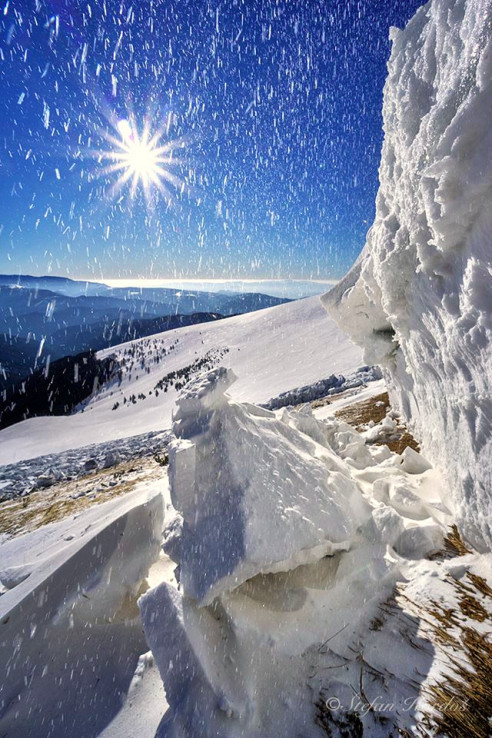 Pod odtrhom lavíny